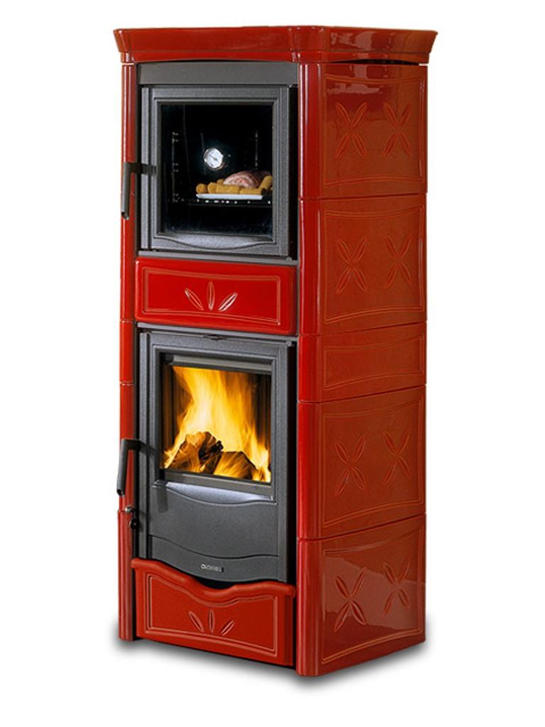 kaminofen nicoletta forno mit backfach la nordica din plus. Black Bedroom Furniture Sets. Home Design Ideas