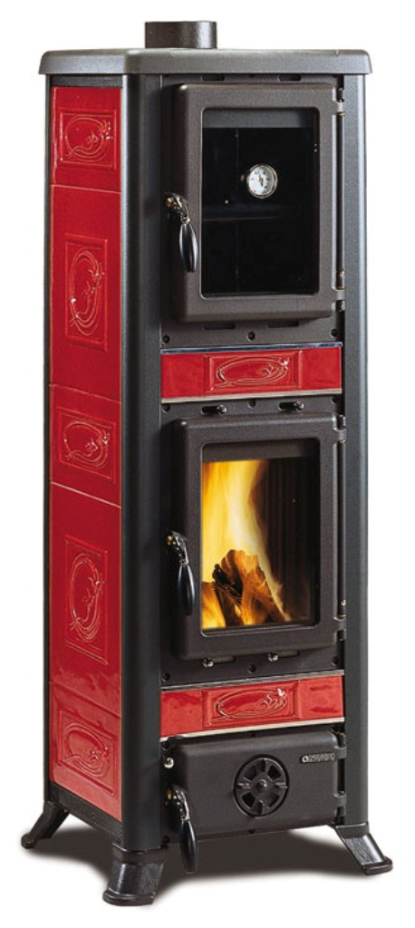 la nordica fulvia forno mit backfach 6 kw ofen kaminofen. Black Bedroom Furniture Sets. Home Design Ideas