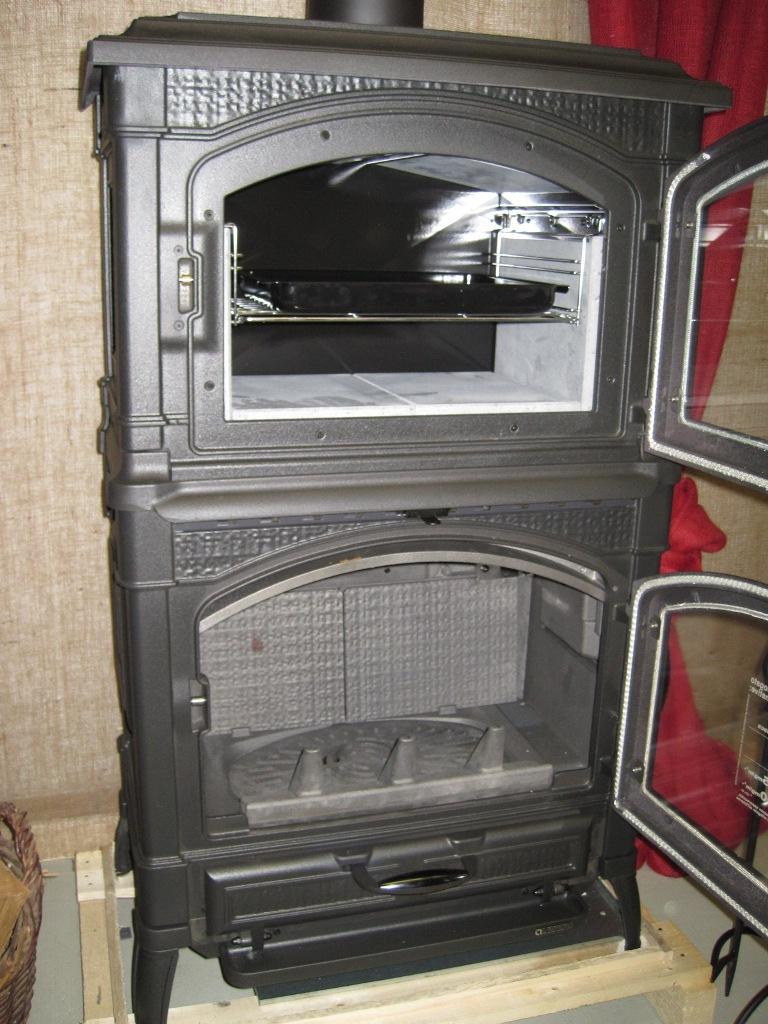 kaminofen gussofen la nordica isotta forno ofen guss mit backfach ebay. Black Bedroom Furniture Sets. Home Design Ideas