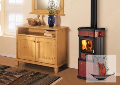 wamsler kf 188 mona bordeaux kaminofen kamin ofen holzofen kachelofen ebay. Black Bedroom Furniture Sets. Home Design Ideas