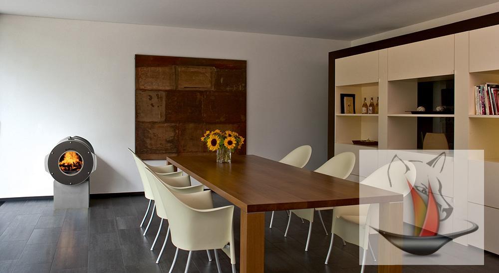 bullerjan dot base high cube 6 kw warmluftofen kaminofen ofen kamin. Black Bedroom Furniture Sets. Home Design Ideas