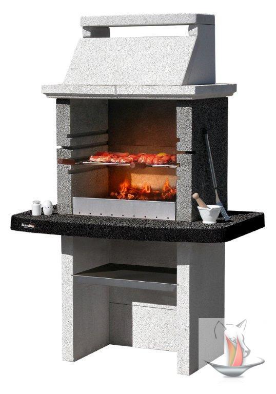 sunday grillkamin santiago crystal terrassengrill. Black Bedroom Furniture Sets. Home Design Ideas
