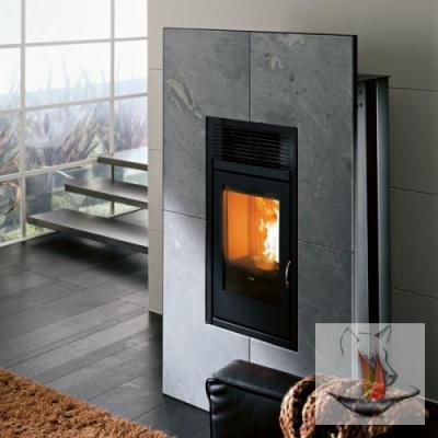 mcz modulo square speckstein m fernbedienung pelletofen 8. Black Bedroom Furniture Sets. Home Design Ideas