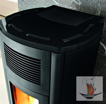 mcz club hydro hocheffizienzpumpe 15 kw black keramik wasserf hrend pelletofen. Black Bedroom Furniture Sets. Home Design Ideas
