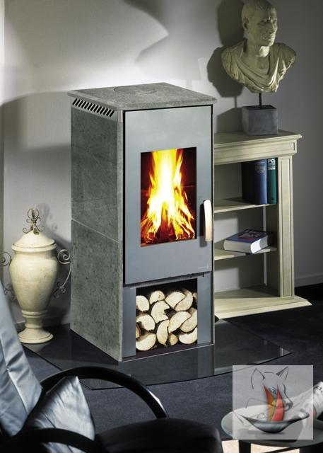 kaminofen wamsler kf 101 galant gussgrau speckstein eckig. Black Bedroom Furniture Sets. Home Design Ideas