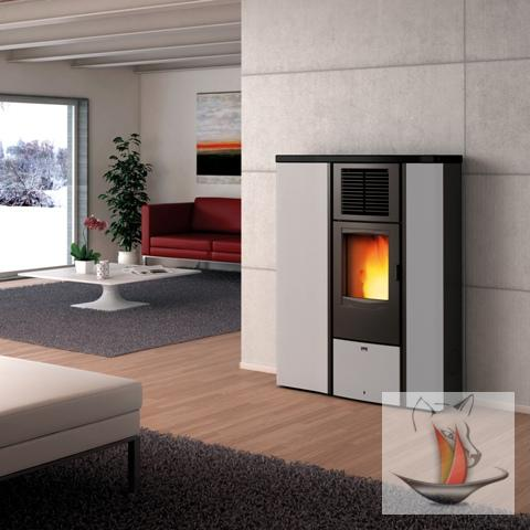 wamsler westminster pelletofen po 90 pellet ofen 8 5 kw kamin pelletheizofen ebay. Black Bedroom Furniture Sets. Home Design Ideas