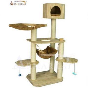 armarkat kratzbaum s6108 katzenbaum echtholz naturholz holz neu ebay. Black Bedroom Furniture Sets. Home Design Ideas