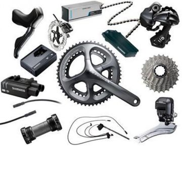 shimano ultegra 2 11s gruppe di2 disc 590010 ebay. Black Bedroom Furniture Sets. Home Design Ideas