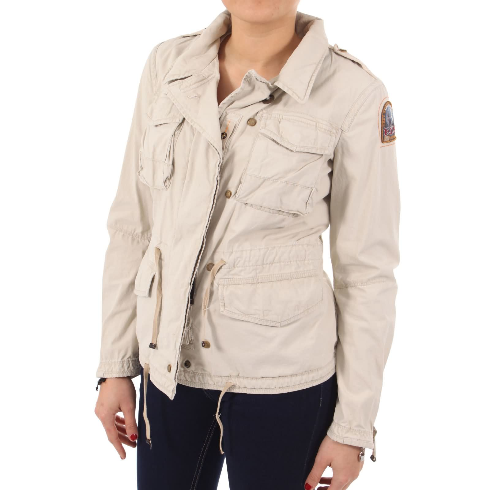 parajumpers damen sommer jacke jenny sand ebay. Black Bedroom Furniture Sets. Home Design Ideas
