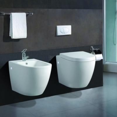 wand h nge wc wand h nge bidet inkl wc sitz komplett set kb76 ebay. Black Bedroom Furniture Sets. Home Design Ideas
