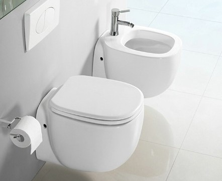 wand h nge wc h nge bidet inkl soft close wc sitz kb04 set ebay. Black Bedroom Furniture Sets. Home Design Ideas