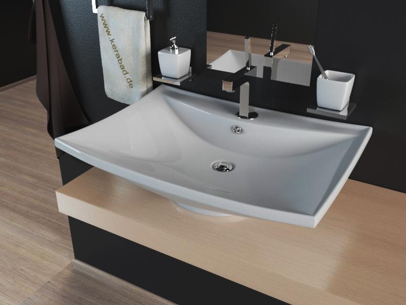keramik waschbecken aufsatzwaschbecken waschtisch kbw084. Black Bedroom Furniture Sets. Home Design Ideas