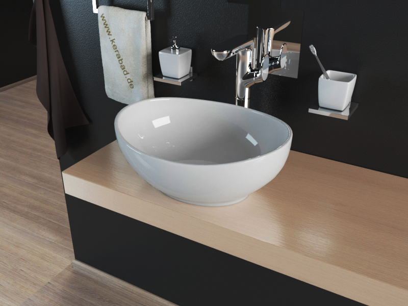 keramik waschbecken aufsatzwaschbecken waschschale kbw082. Black Bedroom Furniture Sets. Home Design Ideas