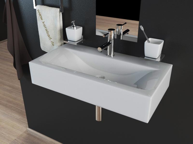 keramik waschbecken waschschale waschtisch aufsatzwaschbecken kbw153a ebay. Black Bedroom Furniture Sets. Home Design Ideas