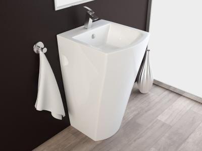 design stand waschbecken waschtisch s ule kbe2 ebay. Black Bedroom Furniture Sets. Home Design Ideas