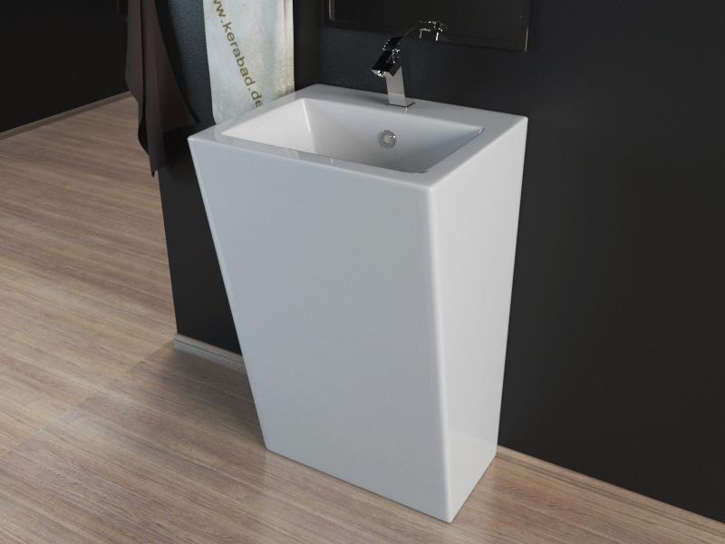 design stand waschbecken waschtisch s ule kbe3 ebay. Black Bedroom Furniture Sets. Home Design Ideas