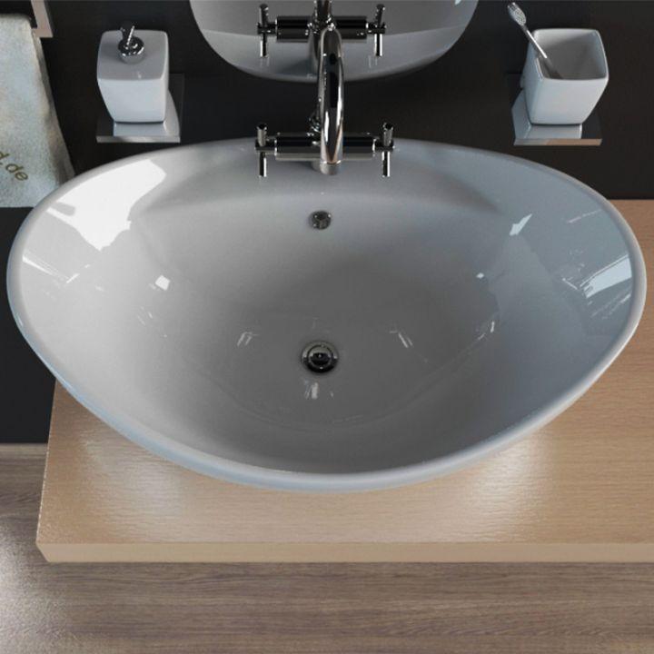 keramik design aufsatzwaschbecken waschschale waschtisch. Black Bedroom Furniture Sets. Home Design Ideas