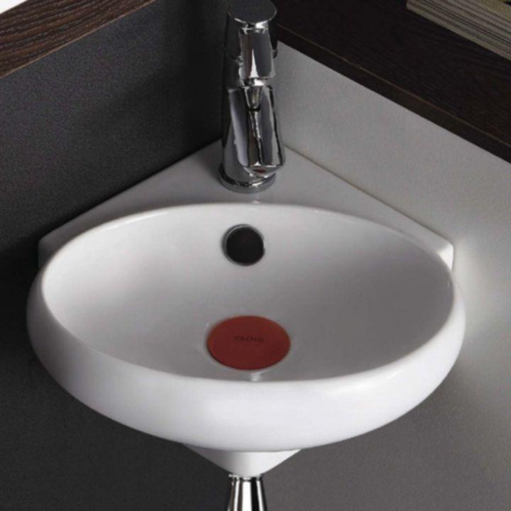 design keramik eckwaschbecken ekwaschtisch waschbecken f r. Black Bedroom Furniture Sets. Home Design Ideas