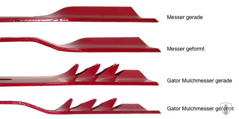 oregon gator mulcher straight mulchmesser ersatzmesser 52. Black Bedroom Furniture Sets. Home Design Ideas