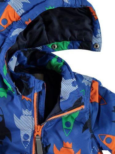 Winterjacke 86 blau