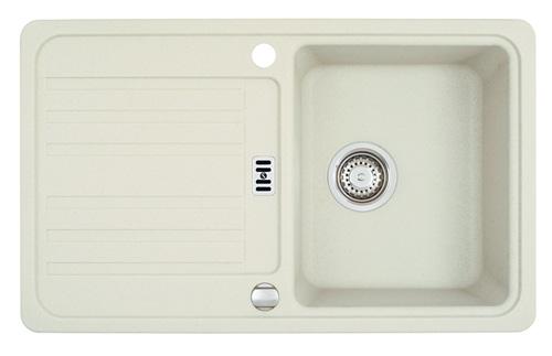 franke euroform efg 614 78 glacier granit sp le wei sp lbecken k chensp le 45us ebay. Black Bedroom Furniture Sets. Home Design Ideas