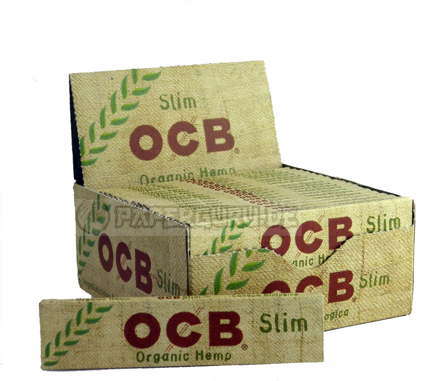 1 box 50x ocb organic hemp king size slim hanf bl ttchen. Black Bedroom Furniture Sets. Home Design Ideas