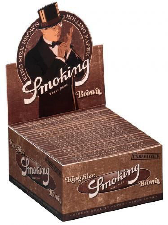 1 box 50x smoking brown braun nat rliche king size. Black Bedroom Furniture Sets. Home Design Ideas