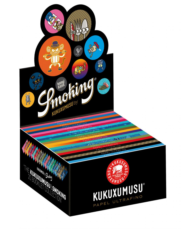 10x smoking kukuxumusu papers king size slim bl ttchen mit. Black Bedroom Furniture Sets. Home Design Ideas
