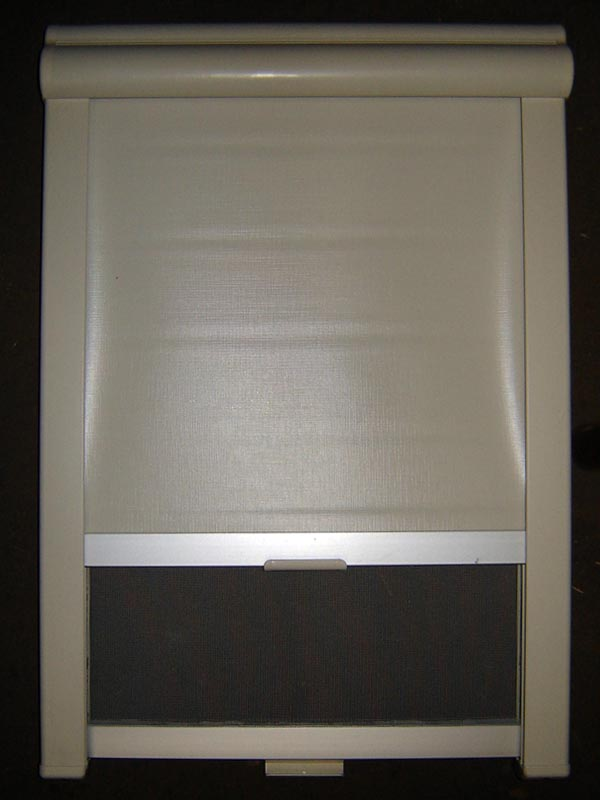20012 remis doppelkassettenrollo jalousie sonnenschutz fliegengitter 40x60 cm ebay. Black Bedroom Furniture Sets. Home Design Ideas