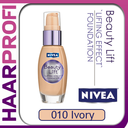 NIVEA Beauty Lift foundation Make Up 010 IVORY lifting ...