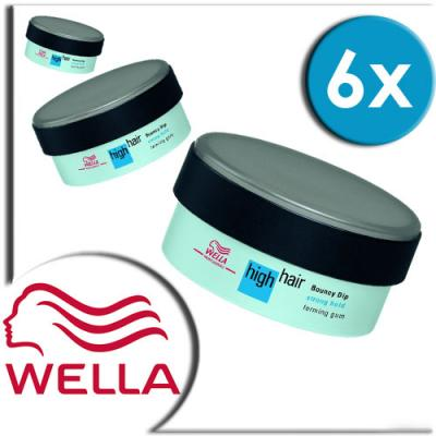 6-x-WELLA-high-hair-Bouncy-Dip-100ml