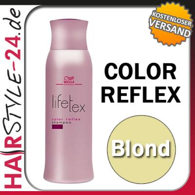 wella lifetex color reflex shampoo blond 250ml f r blondes haar 7 16eur 100ml ebay. Black Bedroom Furniture Sets. Home Design Ideas