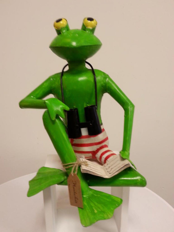 Frosch gartenfrosch tier gartenfigur figur garten for Frosch figur garten