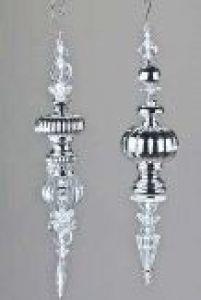 formano deko h nger aus acryl 34 cm h ngedeko fenster balkon deko rechts ebay. Black Bedroom Furniture Sets. Home Design Ideas