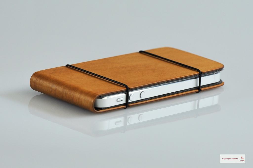 holz wood tasche h lle etui case cover f r iphone 5 5s. Black Bedroom Furniture Sets. Home Design Ideas