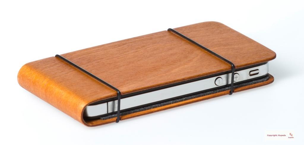 holz wood tasche h lle etui case cover f r iphone 4 4s ebay. Black Bedroom Furniture Sets. Home Design Ideas
