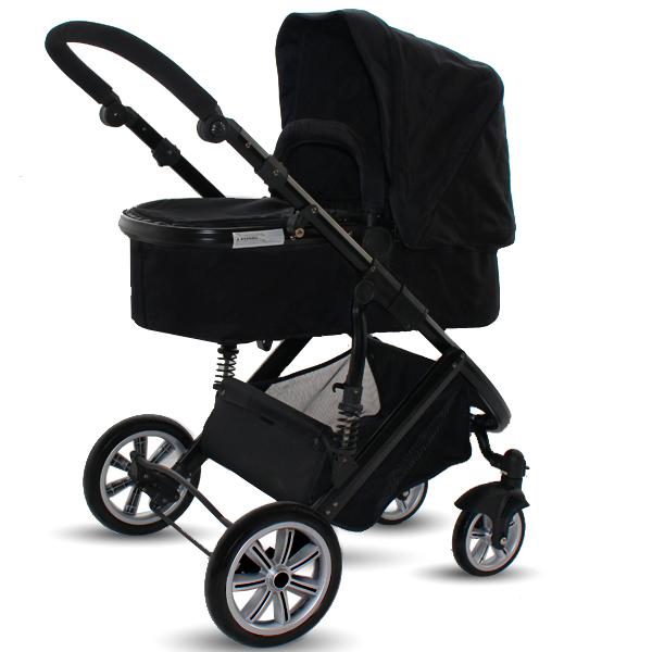 kinderwagen kombikinderwagen travelsystem lanboo 3x3 alu inkl babyschale ebay. Black Bedroom Furniture Sets. Home Design Ideas