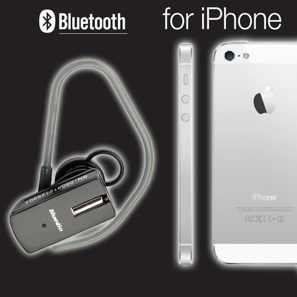 mini bluetooth headset f r apple iphone 5 neu handy. Black Bedroom Furniture Sets. Home Design Ideas