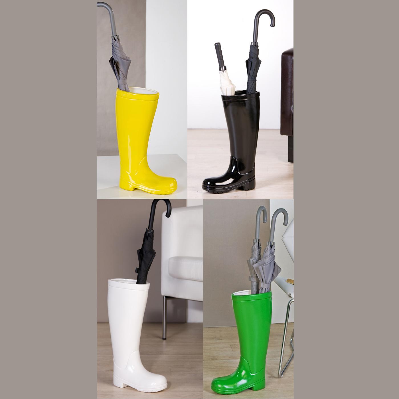 Original c ramique support pied pour parasol botte 45 cm for Stand parapluie occasion