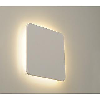 led gipsleuchte plastra square deckenleuchte gipslampe slv. Black Bedroom Furniture Sets. Home Design Ideas