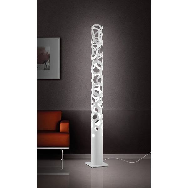 thor stehleuchte designerleuchte rund designerlampe gibas moderne stehlampe neu ebay. Black Bedroom Furniture Sets. Home Design Ideas