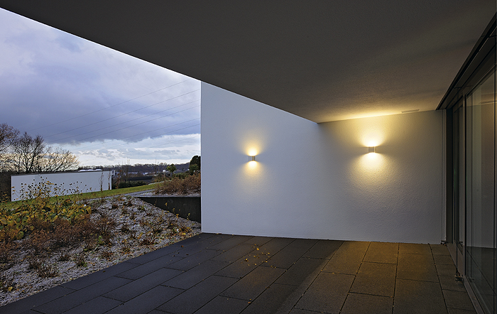 sitra cube rost wandleuchte up down slv 232537 wandlampe. Black Bedroom Furniture Sets. Home Design Ideas