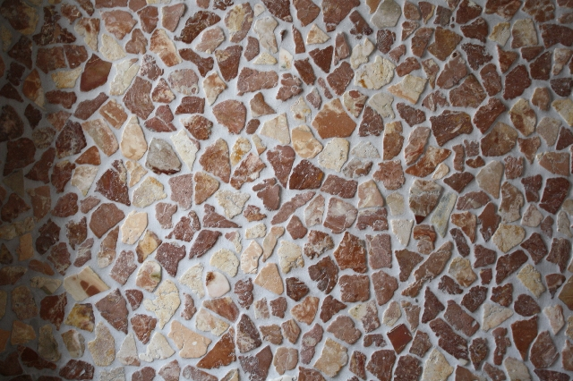 1m bruchmosaik lose choco mosaik fliesen wand boden marmor bruch naturstein ebay. Black Bedroom Furniture Sets. Home Design Ideas
