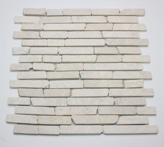 M² stäbchen marmormosaik mosaik marmor wandfliesen