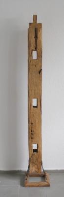 skulptur schnitzerei balken teak teakholz deko design holz altholz unikat kunst ebay. Black Bedroom Furniture Sets. Home Design Ideas
