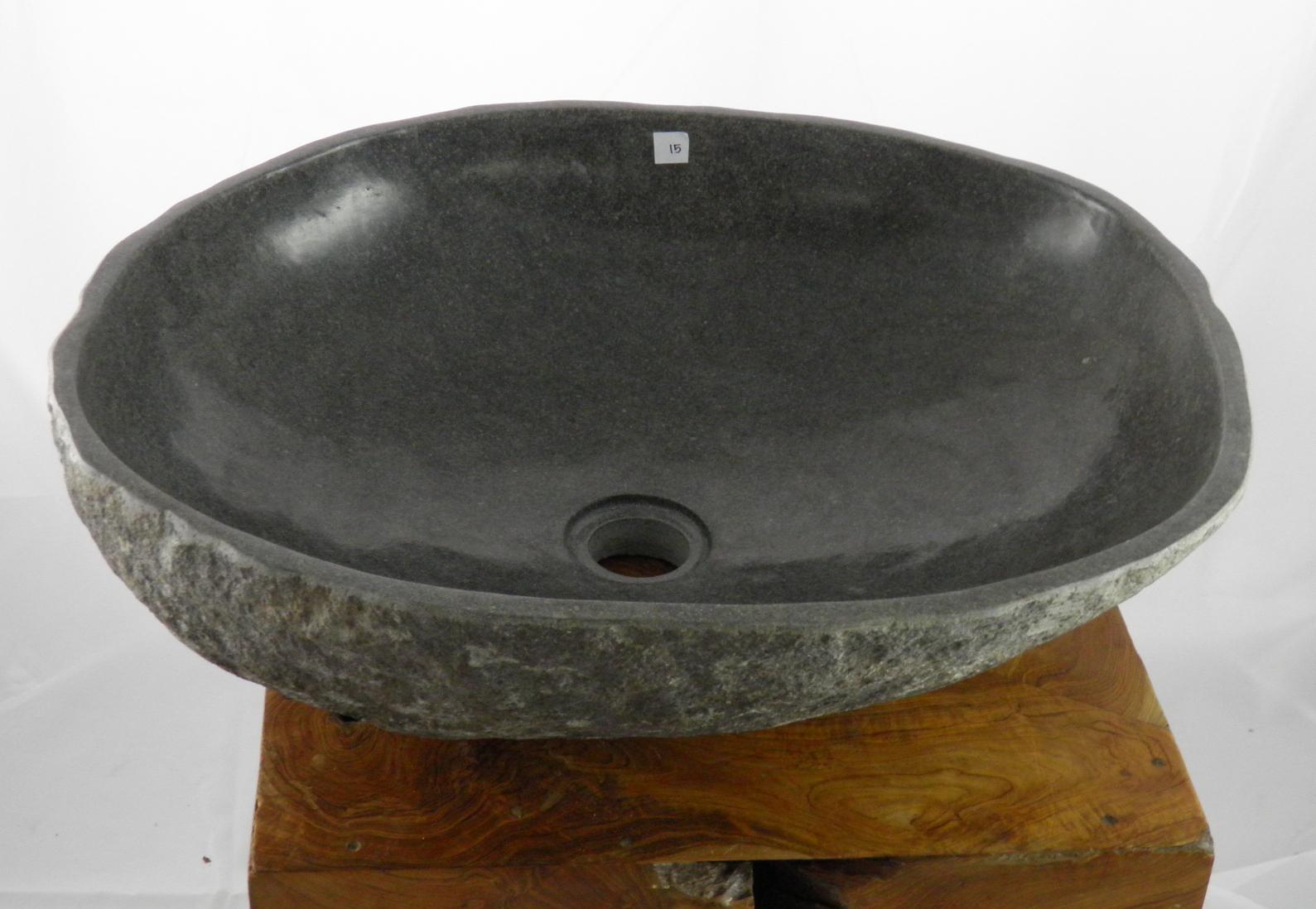 naturstein waschbecken steinwaschbecken kieselstein. Black Bedroom Furniture Sets. Home Design Ideas