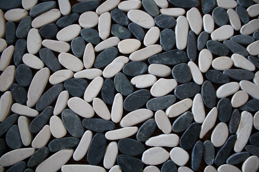1m kieselmosaik fliesen wandfliesen bodenfliesen kiesel - Bodenfliesen stein ...