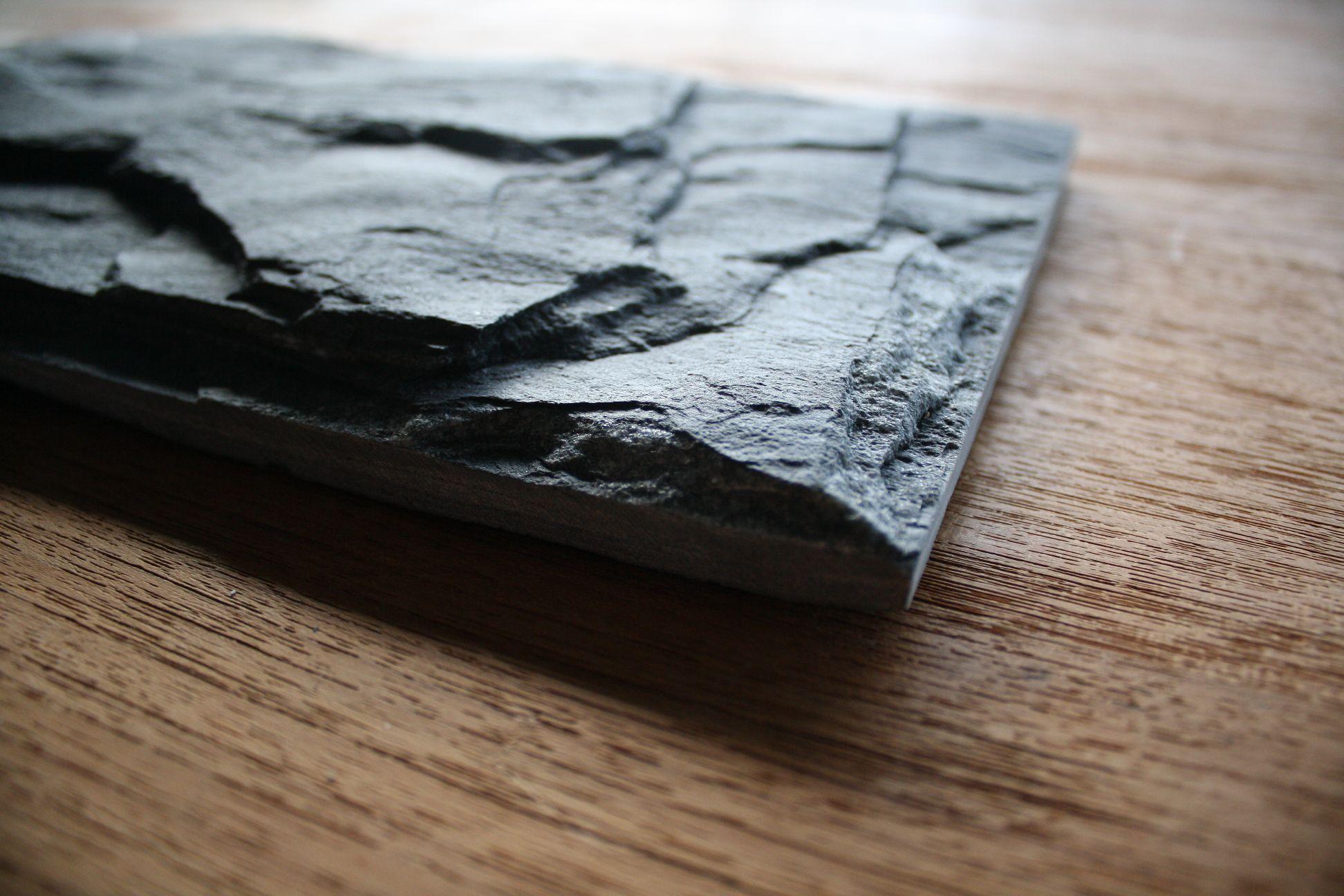 1m wandverkleidung riemchen klinker naturstein stein schiefer wand verblender ebay. Black Bedroom Furniture Sets. Home Design Ideas