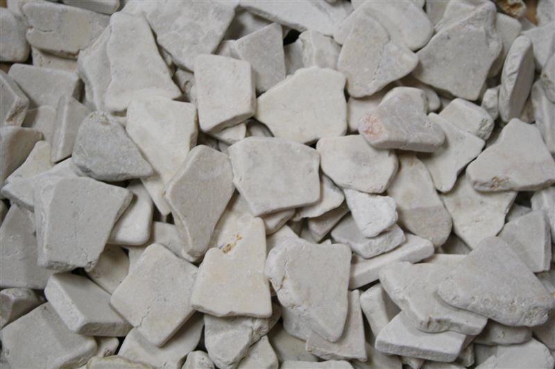 1m bruchmosaik lose antik wei mosaik fliesen wand boden for Fliesen lagerverkauf