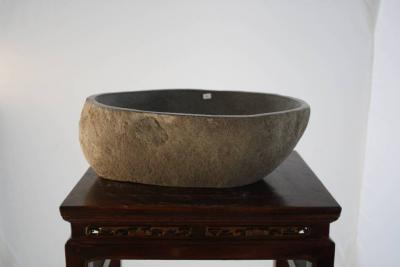naturstein flussstein findling waschbecken kiesel stein. Black Bedroom Furniture Sets. Home Design Ideas